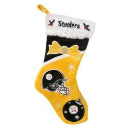 Pittsburgh Steelers Polyester Christmas Stocking