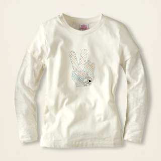 NWT CHILDRENS PLACE TCP Lace Look Peace TOP 4 5 6 7 8