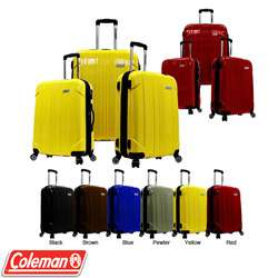 Coleman Sedona Pure Polycarbonate Expandable Spinner 3 piece Luggage
