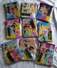 12 Disney Princesses Coloring Book + Crayon Party Favor