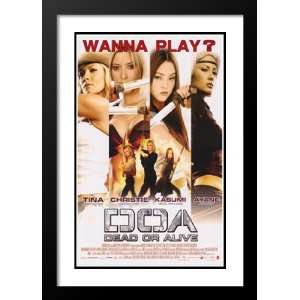 DOA: Dead or Alive 20x26 Framed and Double Matted Movie