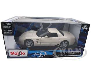 diecast car model of Chevrolet Corvette C5 Z06 die cast car by Maisto