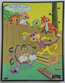 Hanna Barbera c.1961 Top Cat Frame Tray Puzzle Pepper S