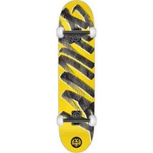 Bullet Signature Complete Skateboard   8.0 Yellow w/Mini