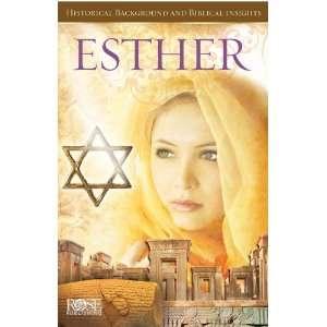 Esther   10 pack (9781596363120) Rose Publishing Books