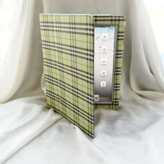 Magnetic Smart Leather Case Cover w/ Stand for iPad 2 Gray