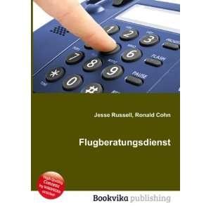Flugberatungsdienst Ronald Cohn Jesse Russell Books