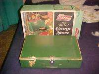 New Coleman 425E499 2 Burner Camp Stove June 1977   Never Opened