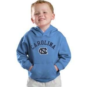 North Carolina Tar Heels Kids 4 7 Carolina Blue Tackle Twill Hooded