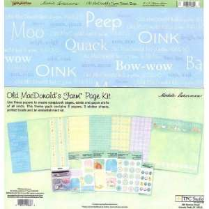 Old MacDonalds Farm Page Kit by TPC Studio Arts, Crafts & Sewing