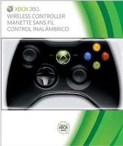 Original Genuine Microsoft Xbox 360 Wireless Controller Black NSF