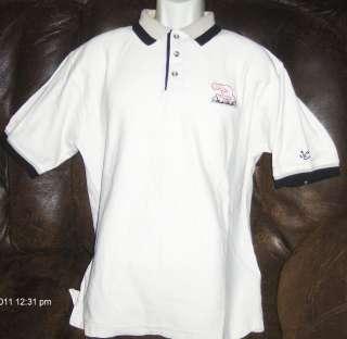 vtg DALE EARNHARDT #3 Creamy Beige w Black CHASE Polo Shirt mens L
