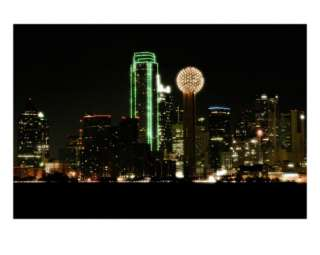 Dallas Skyline Photographic Print by John Gusky at AllPosters