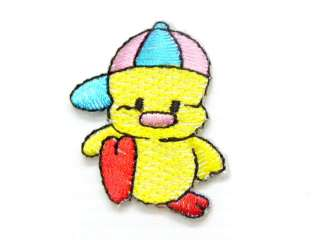 OF HAT CAT TWEETY BIRD IRON ON PATCH EMBROIDERED I225
