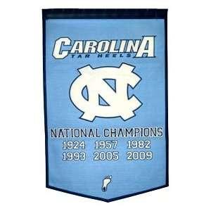 North Carolina Tar Heels UNC NCAA 24 X 36 Dynasty Wool