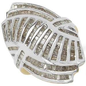 1.99 Carat 14K Gold Plated Genuine Diamond Accents