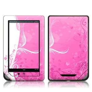 Pink Crush Design Protective Decal Skin Sticker for Barnes