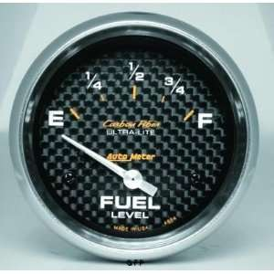 Carbon Fiber 2 5/8 0 E/ 90 F Short Sweep Electric Fuel Level Gauge