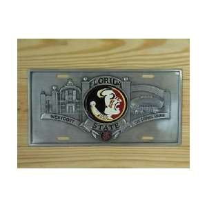 Florida State Seminoles Official License Plate Sports