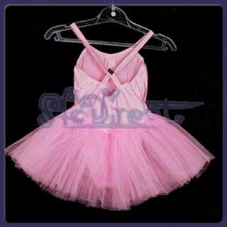 PRINCESS FAIRY Ballet Tutu Dress Dance Costume Child