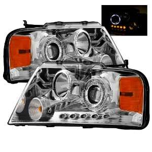 2004 2008 Ford F 150 LED Halo Projector Headlights /w