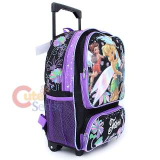 Disney Tinkerbell Fairies School Roller Backpack Lunch Bag Butterfly 3