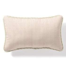 Outdoor Outdoor Lumbar Pillow in Logic White with Cording