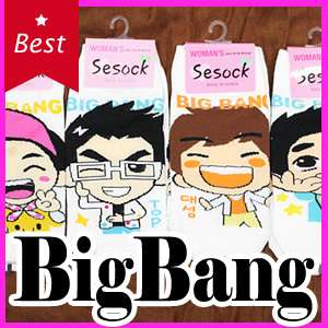 POP Idol BIGBANG 5 Pairs of Socks * GD G dragon TOP