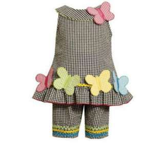 Jean Baby Girls Capri Outfit Size 0 3 Months Infant Clothing