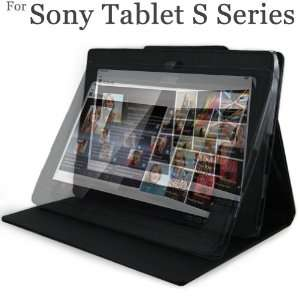 Sony S1 Tablet Leather Case Cover Executive Multi Angle Journal Book