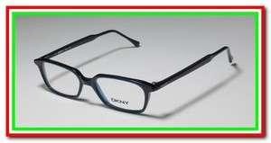 KARAN DKNY 6804 47 16 140 BLUE FULL RIM EYEGLASS/GLASSES/FRAMES ITALY