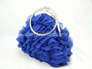 Georgette Multi Layers Wedding Crystal Wristlet 3Colors