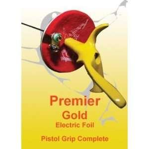 Premier Gold Rainbow Electric Foil Complete Pistol Grip