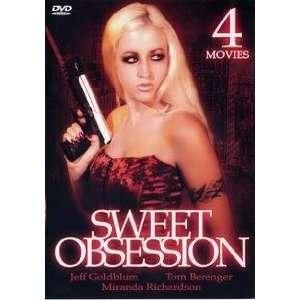 Sweet Obsession 4 Movie Pack Jeff Goldblum, Tom Berenger