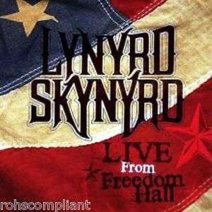 LYNYRD SKYNYRD   LIVE FROM FREEDOM HALL  CD+DVD BOX SET 016861778156
