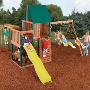 Swing N Slide Chesapeake Wood Swing Set Outdoor Play