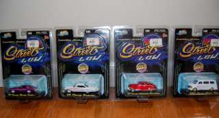 HUGE Lot of 8 JADA TOYS Street Low 1:64 Scale Lowrider Series Diecast