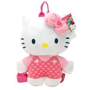 Sanrio Hello Kitty Classic Plush Hello Kitty with Polky Dot Overall
