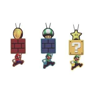Super Mario Brother Animated Phone Strap   Star, Green