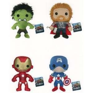com Funko MARVEL AVENGERS 8 Thor   Iron Man   Hulk   Captain America