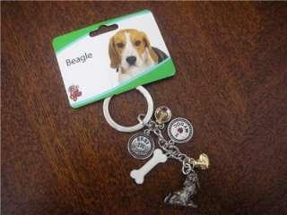Little Gifts Pet Beagle Dog Keyring Key Ring Chain.