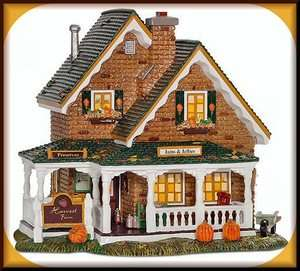 Harvest Farm Roadside Sales Dept. 56 Snow Village D56 SV