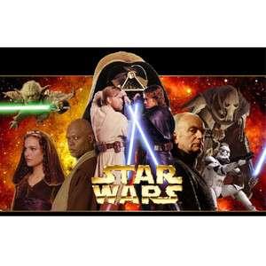 STAR WARS T SHIRT IRON ON TRANSFER 3 DESIGNS