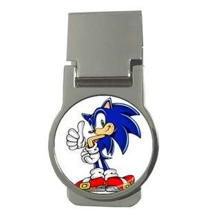 Carsons Collectibles Money Clip Round of Sonic the Hedgehog Thumbs Up