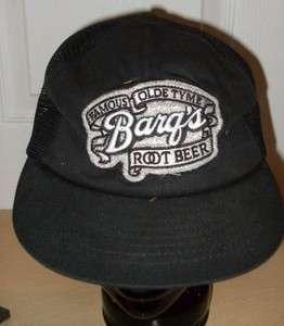 Barqs Root Beer Ball Cap Hat