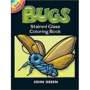 Bugs Stained Glass Coloring Book (Dover Stained Glass