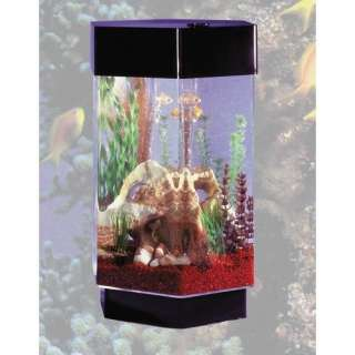 Midwest Tropical Fountain AquaScape 8 Gallon Hexagon Aquarium Fish