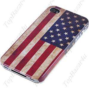 US Flag Hard Case Cover for Apple iPhone 4 4G 4S   Back   High Quality