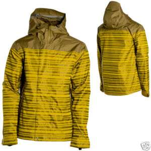NWT HOLDEN Weston Ski Snowboard Mens Stripe Jacket L