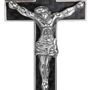 Cross with Jesus Christ Pendant Necklace 16  Dahlia Jewelry Mens